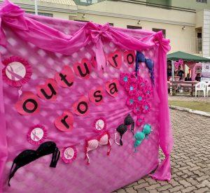 Secretaria de Saúde realiza Campanha Outubro Rosa na Praça Admar Amazonas
