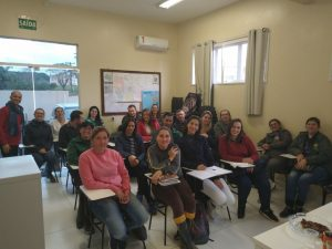 Palestra para agentes Comunitários de saúde parceria secretaria de Assistência Social e Saúde