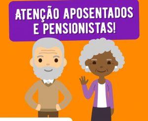 Relatório de Participação Censo Cadastral Previdenciário 2019. Comunicado de Suspensão de Pagamento
